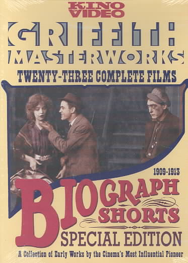 BIOGRAPH SHORTS - SPECIAL EDITION BY GRIFFITH,D.W. (DVD)