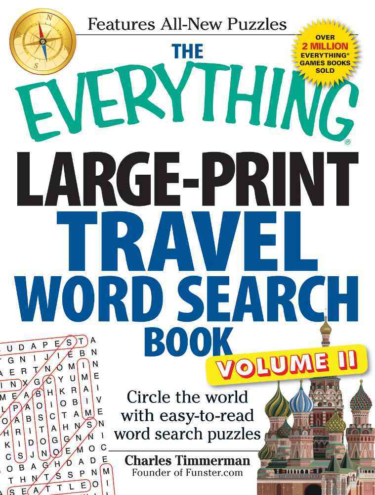 The Everything Travel Word Search Book By Timmerman, Charles